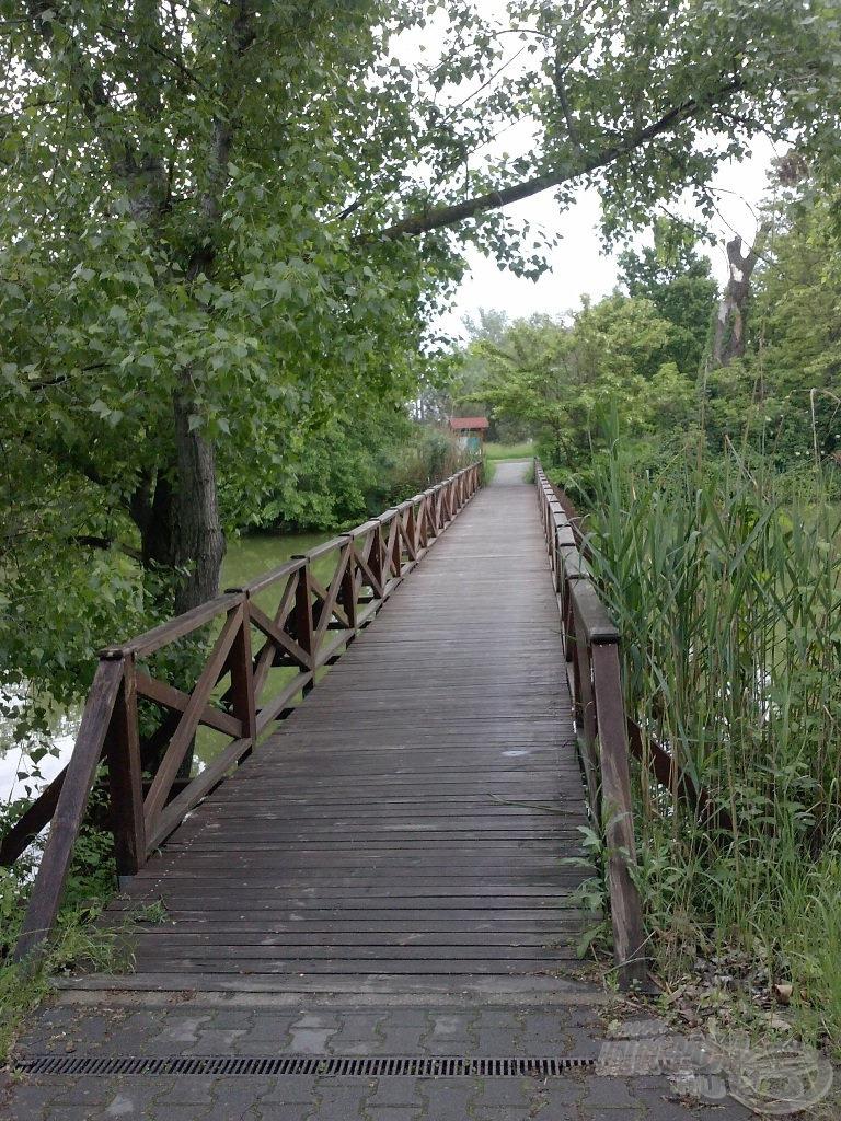 Bejárat a tórendszerre