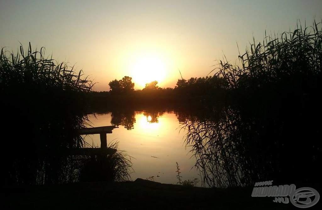 Az utolsó reggel így búcsúzott tőlünk a Duna