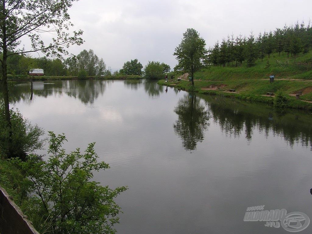 A kővágószőlősi Hadnagy-tó