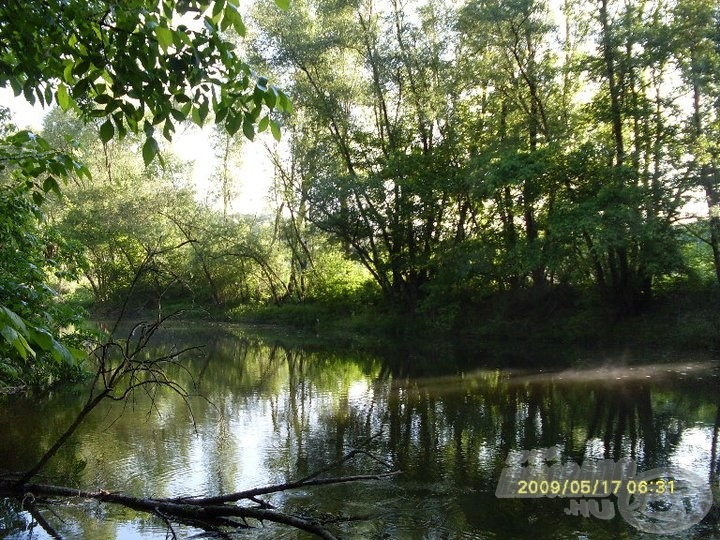 Ilyen csodás kis folyó volt a Marcal