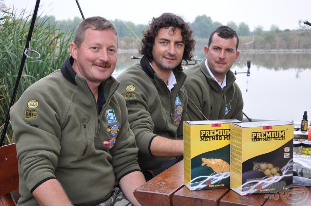 A forgatáson a csapat már néhány jövő évi újdonsággal horgászott