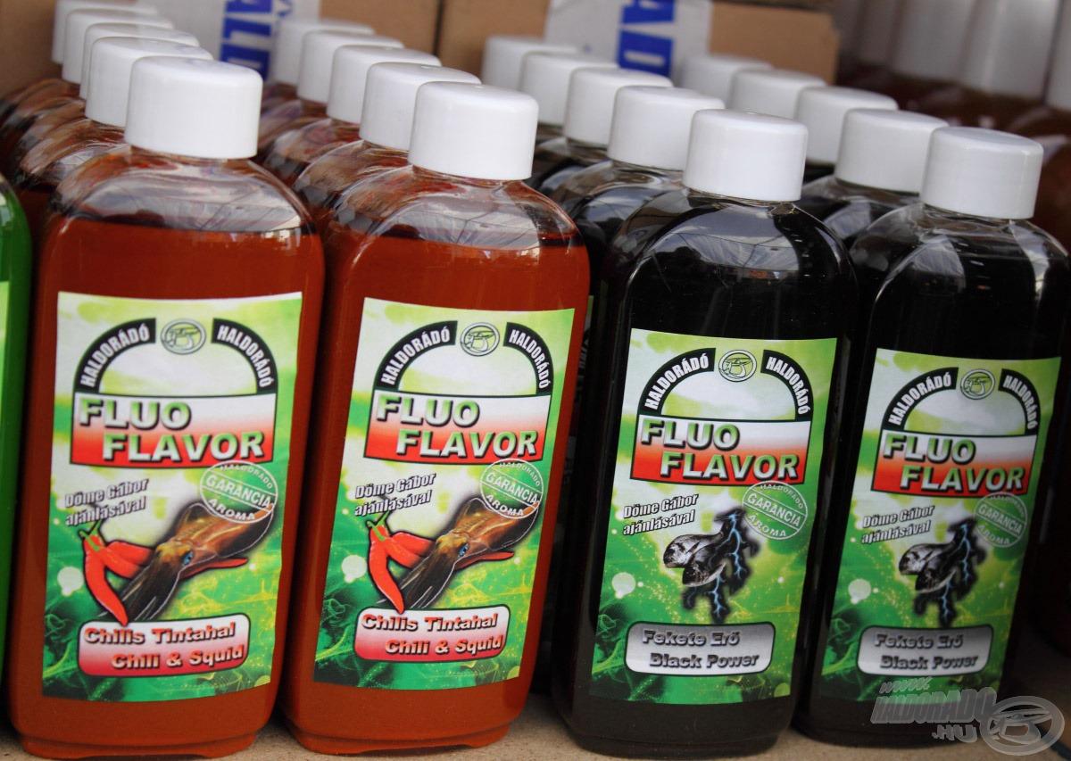Már nagy érdeklődés övezi az új Fluo Flavor aromákat
