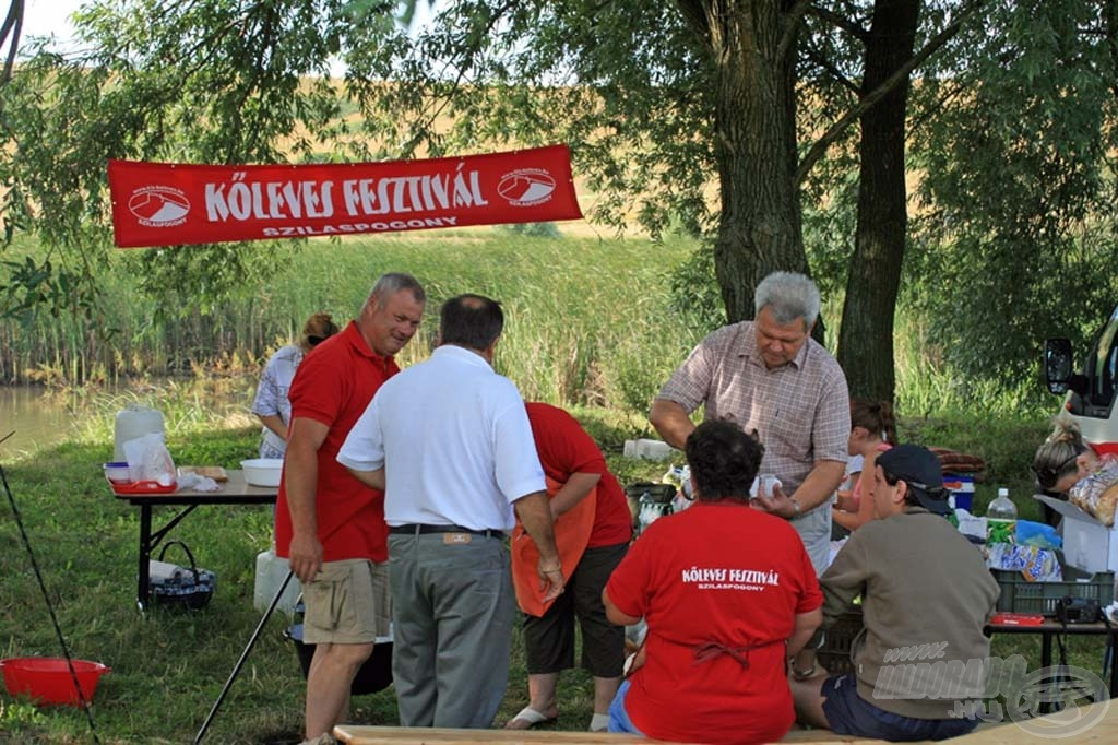 A Kőleves Fesztivál résztvevői
