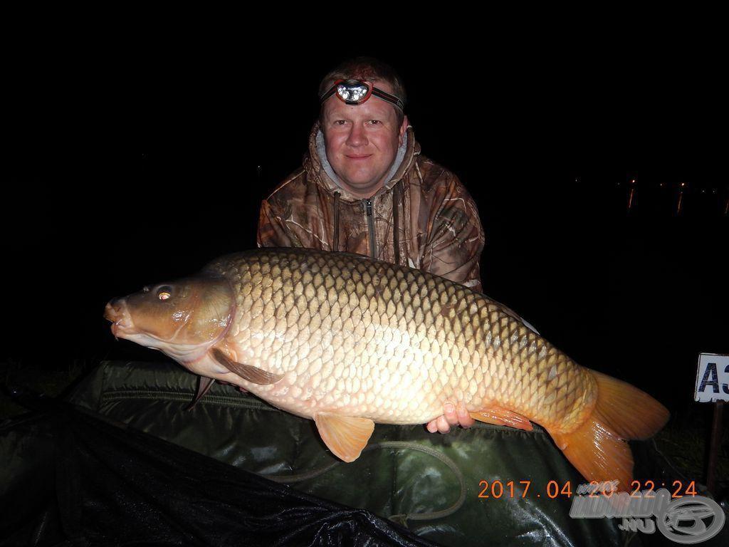 Az első szakasz legnagyobb hala, úton a 17 kg felé
