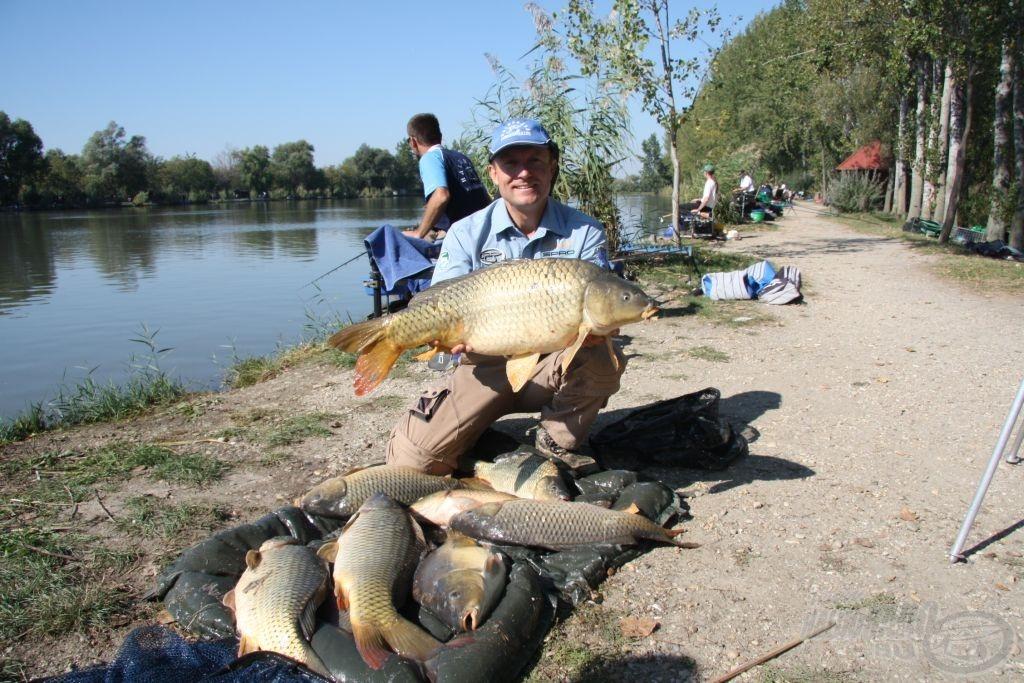 Döme Gábor bravúros második félidőt horgászott