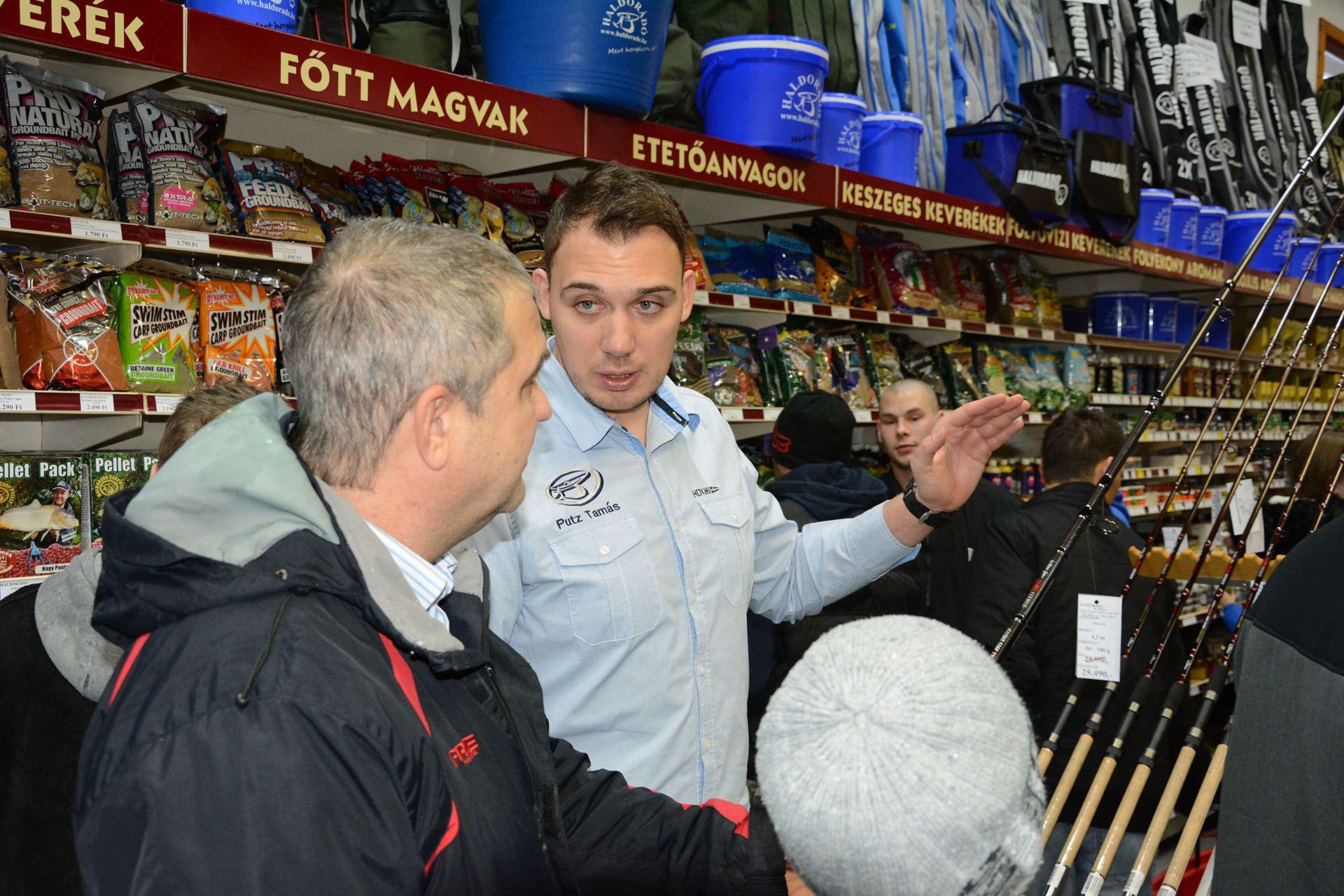 Putz Tamás feeder botok választása során segít tanácsaival