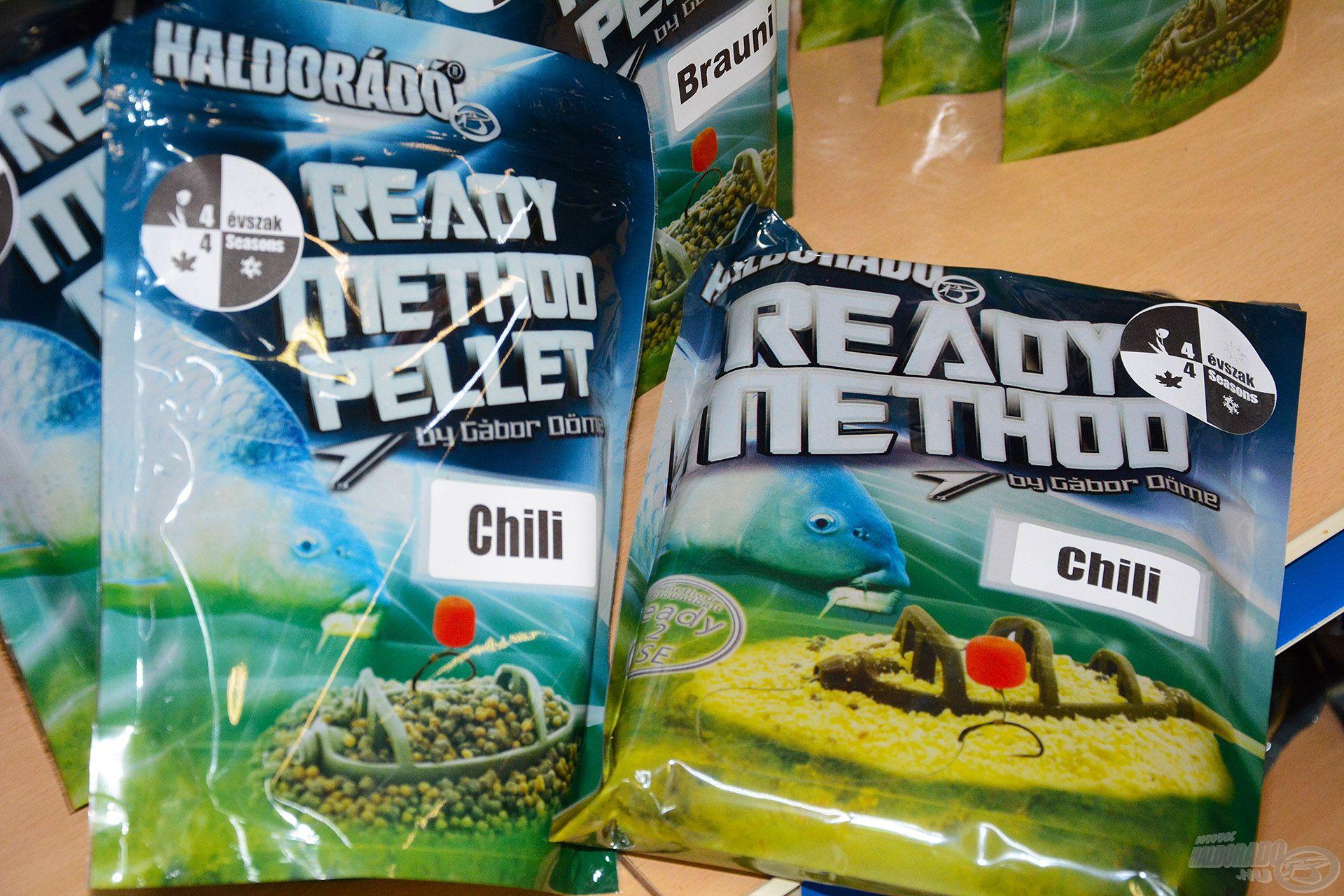 Sok horgász választotta a Ready Method etetőanyagot és Ready Method Pelletet az év első horgászatához, közülük is kiemelkedően népszerű volt a Chili ízváltozat