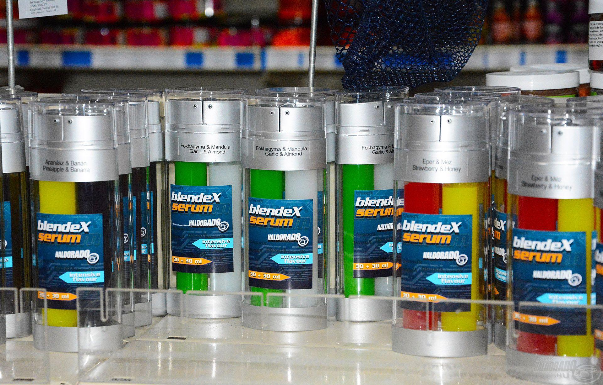 ...akárcsak a BlendeX Serum aromák, melyek közül magasan a Fokhagyma+Mandula ízváltozat vezeti a statisztikát