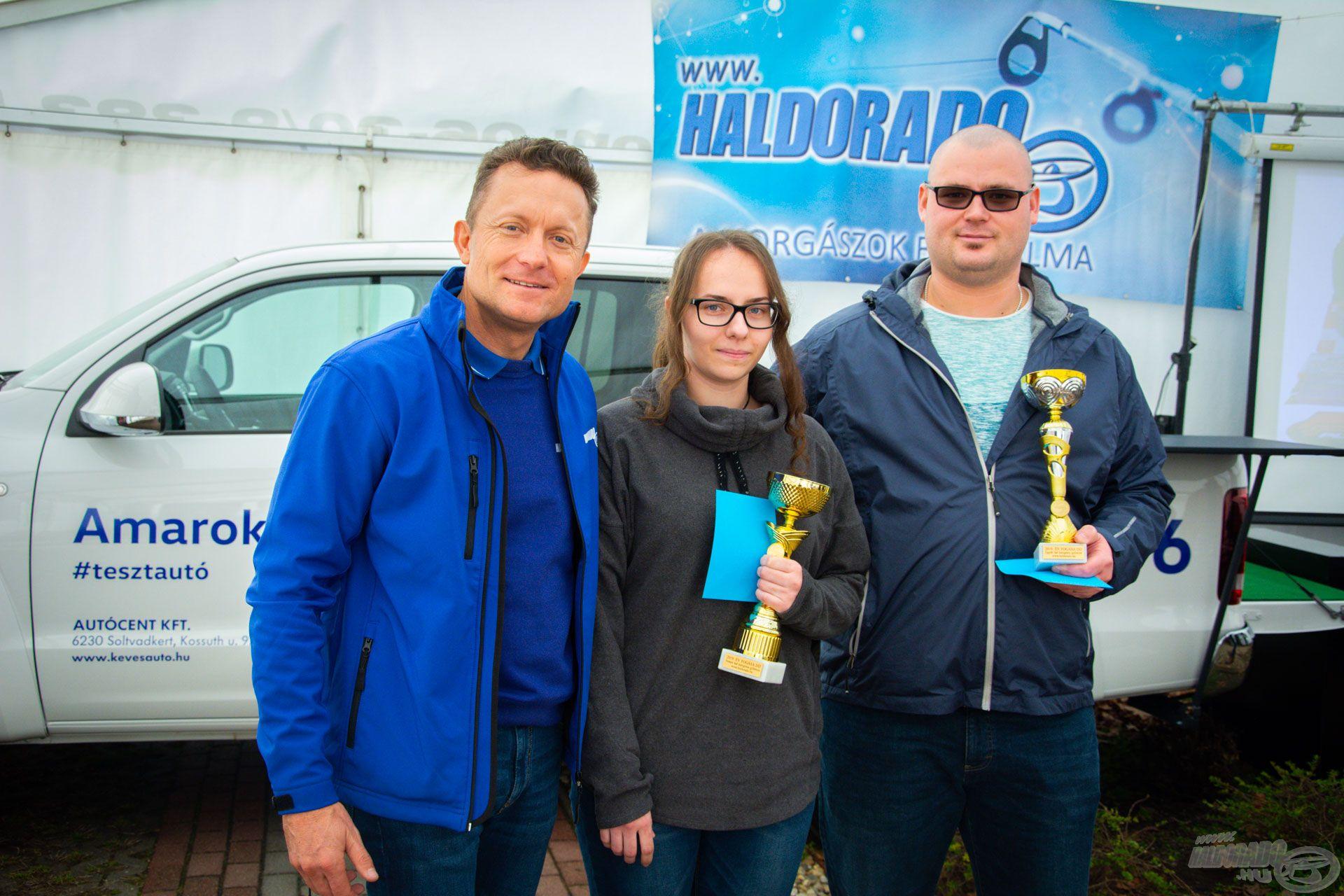 Délben átadásra került a 2019. év legszebb fogása díj nemes, illetve egyéb hal kategóriában. Szívből gratulálunk a két győztesnek, Balog Boglárkának és Zólyomi Viktornak!