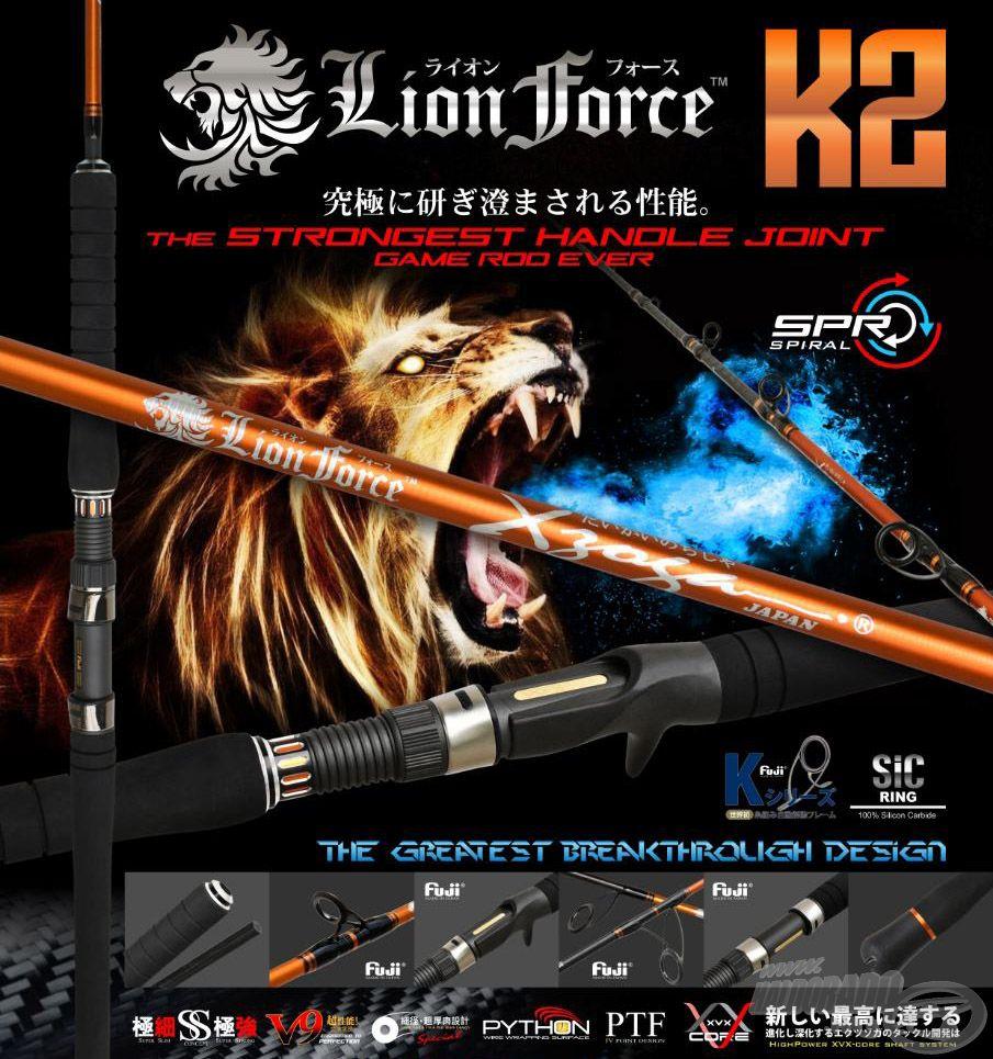 Egy oroszlán ereje lakozik a botban