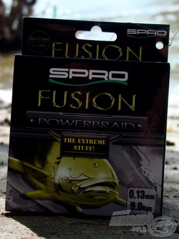 Egy szezon után teljesen elégedett vagyok a Spro Fusion fonott zsinórral