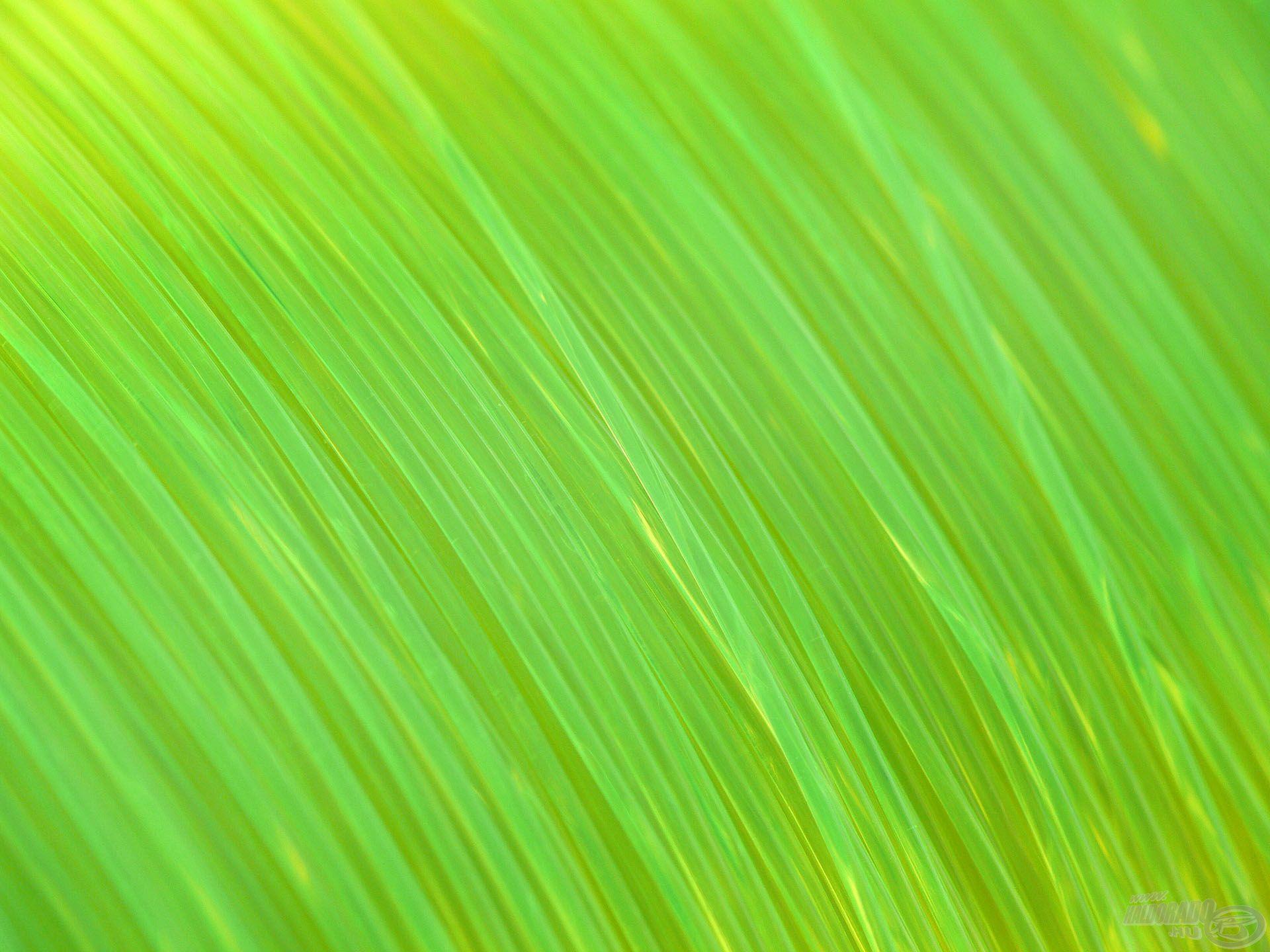 Ez a zsinór élénksárga színezettel és UV védelemmel rendelkezik