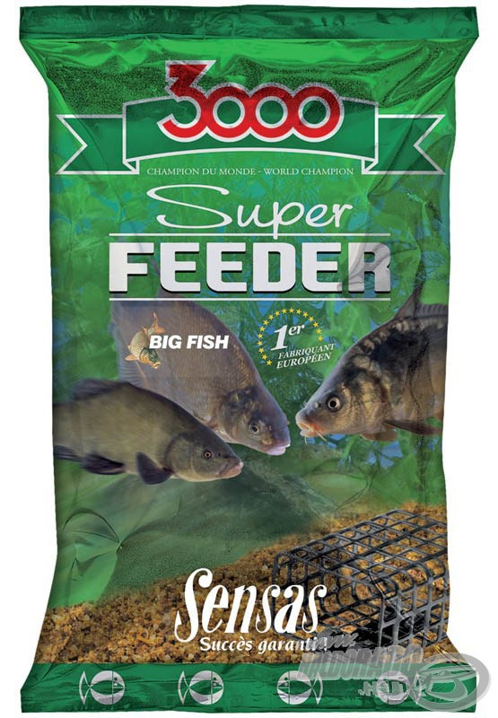 SENSAS, 3000, Super, Feeder, Big, Fish, 1790Ft