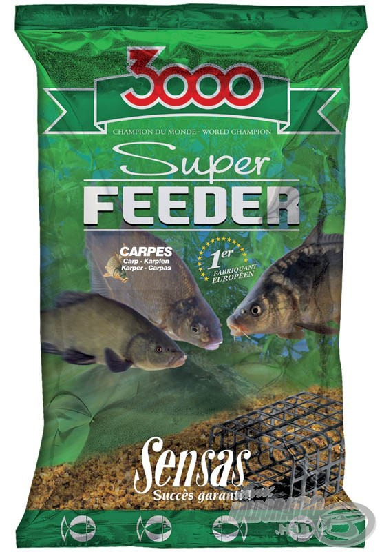 SENSAS, 3000, Super, Feeder, Carpe, 1790Ft