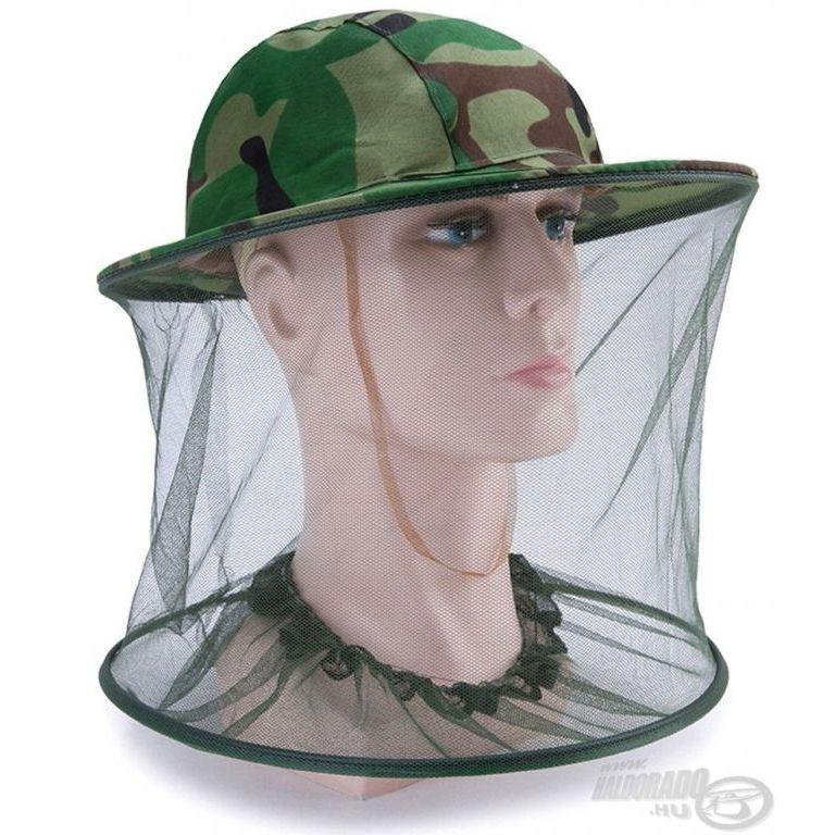 ADVENTURE Szúnyoghálós kalap