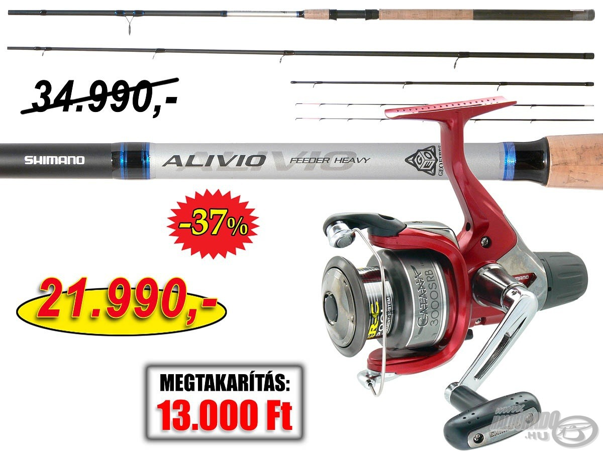 SHIMANO, Alivio, CX, Feeder, Catana, ors�val 34990, helyett, 21990Ft