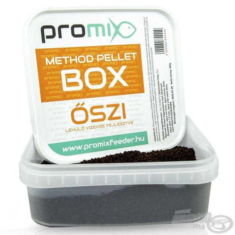 Aqua Garant Method Pellet Box - őszi 400 g