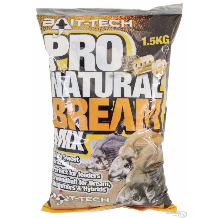 Bait-Tech Pro Natural Bream Groundbait 1,5 kg