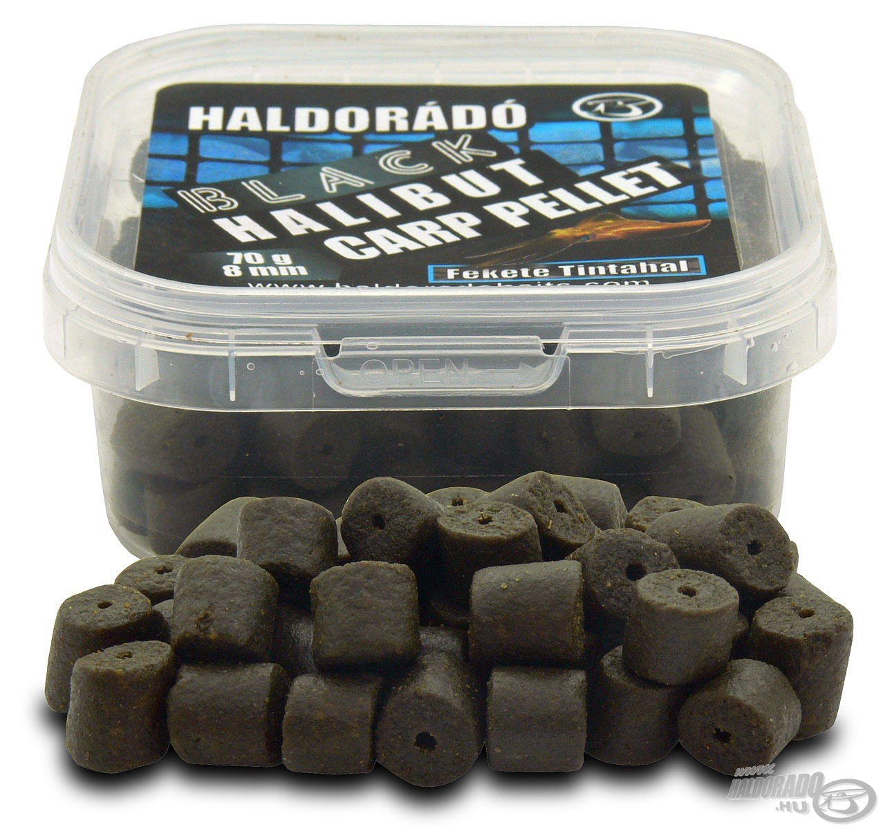 HALDOR�D�, Black, Halibut, Carp, Pellet 990Ft