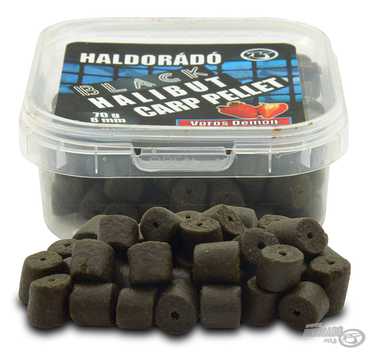 HALDOR�D�, |, Black, Halibut, Carp, Pellet 990Ft