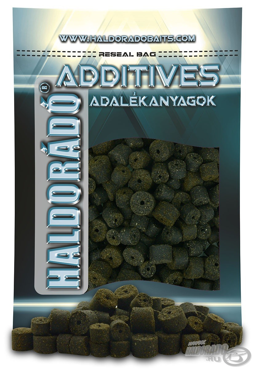 HALDOR�D�, Black Halibut Pellet 0,8 kg / 12-16 mm