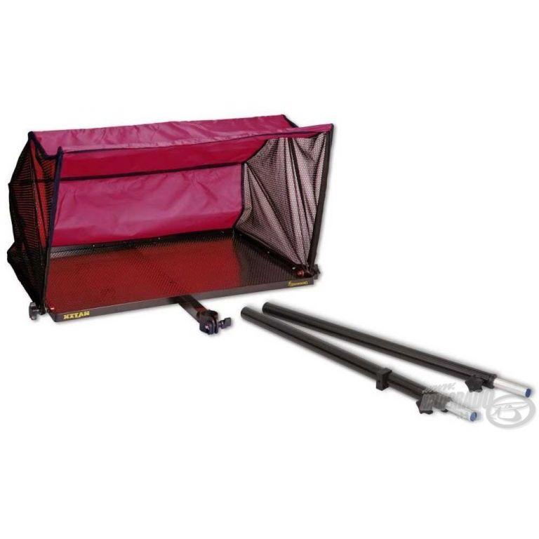 BROWNING Xitan Oldaltálca lehajtható tetővel XL