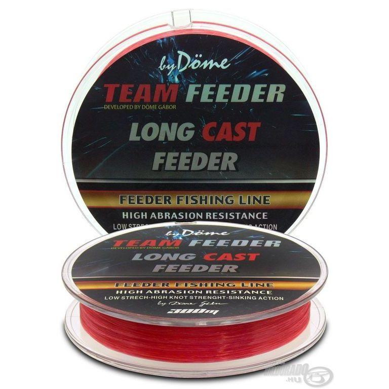By Döme TEAM FEEDER Long Cast Line 0,25 mm