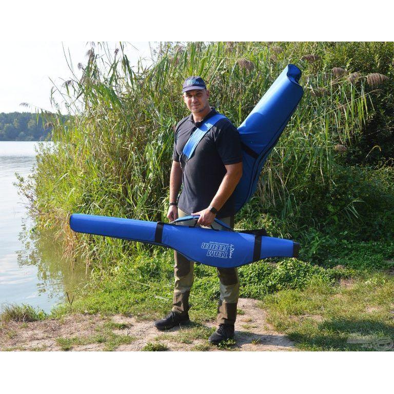 By Döme TEAM FEEDER Merev bottartó táska 2 botos 165 cm