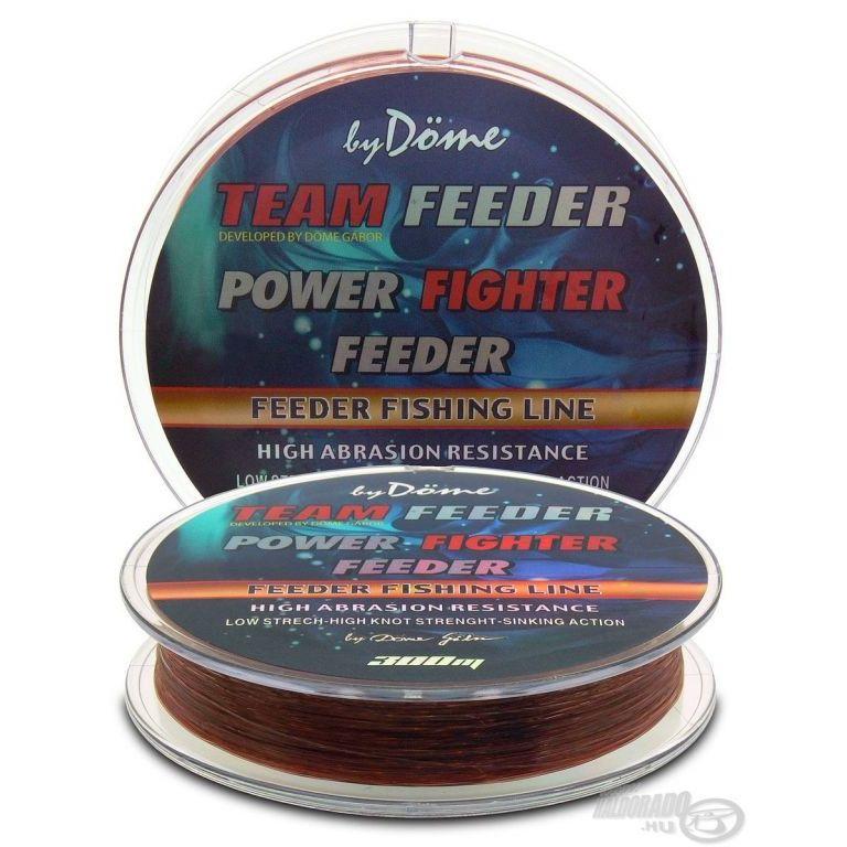 By Döme TEAM FEEDER Power Fighter Line 0,18 mm