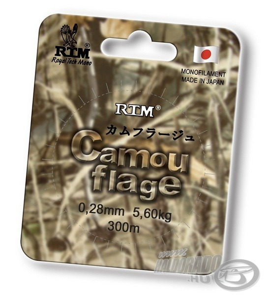 RTM, Camouflage 0,22 mm