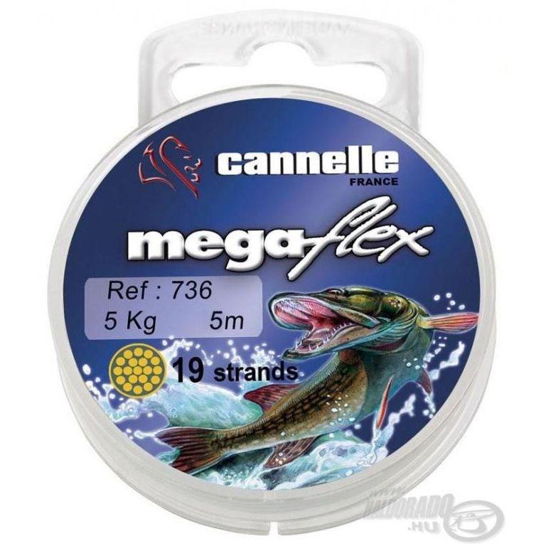 CANNELLE Megaflex 736 19 szálas köthető előke 5 m 5 kg