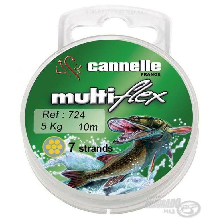 CANNELLE Multiflex 724 7 szálas köthető előke 10 m 9 kg