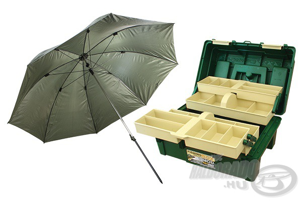 FISHING BOX Cantilever 3 l�da + Erny� 12880 helyett 9990Ft