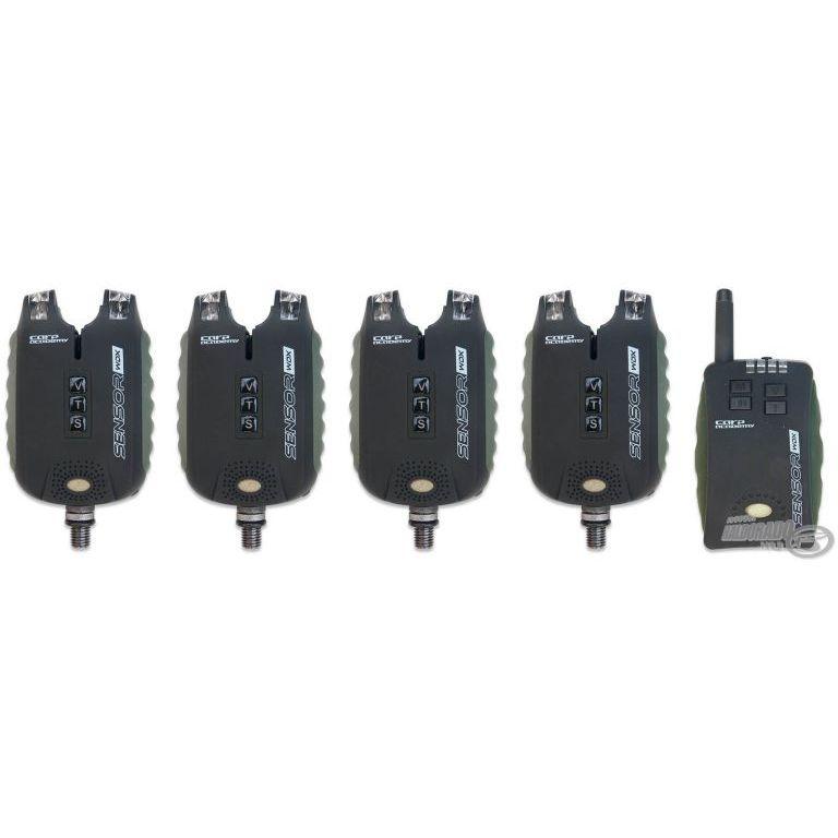 CARP ACADEMY Sensor WDX 4+1 rádiós kapásjelző szett