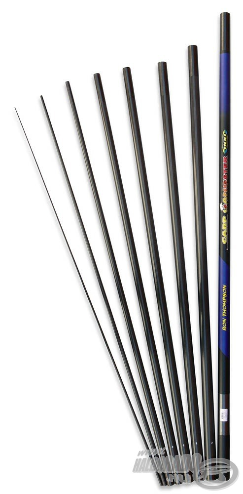 RON THOMPSON Carp Gangster Pole 11 m 24990Ft
