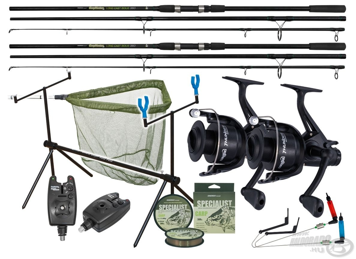 ENERGOTEAM Carp Hunter Long Cast Bojli szett42990 helyett 29990Ft