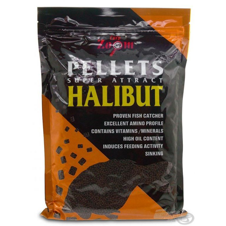 CARP ZOOM Halibut Pellet 6 mm