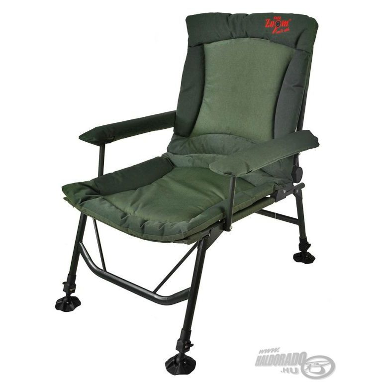CARP ZOOM Pontyozó karfás fotel extra Haldorádó horgász áruház