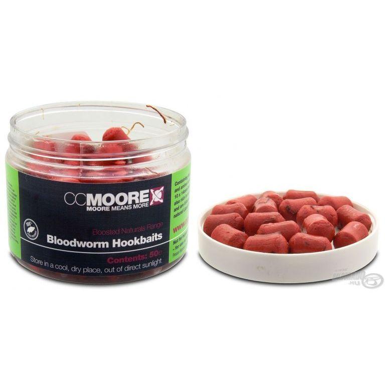 CCMoore Bloodworm Hookbaits - Szúnyoglárvás dippelt horogcsali
