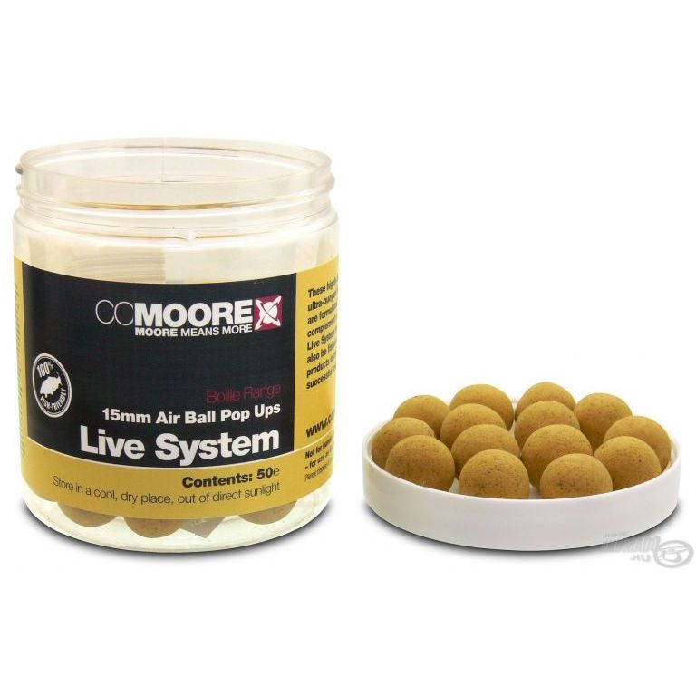 CCMoore Live System Air Ball Pop Ups 15 mm