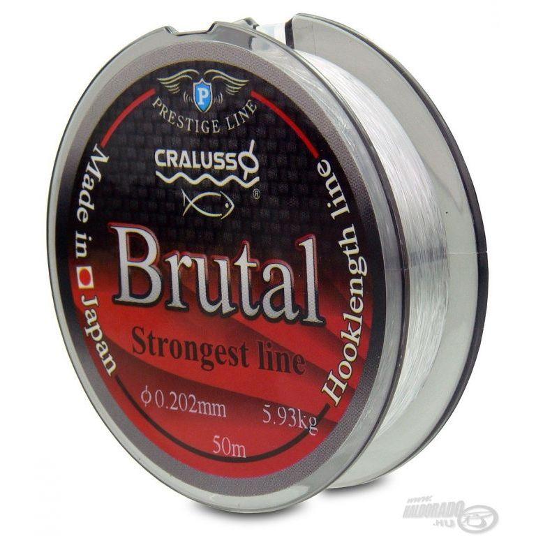 CRALUSSO Brutal előkezsinór 50 m - 0,12 mm