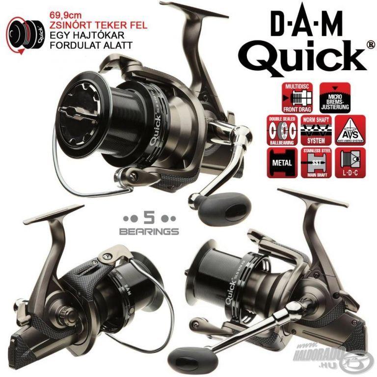 DAM Quick SLS 570FD elsőfék