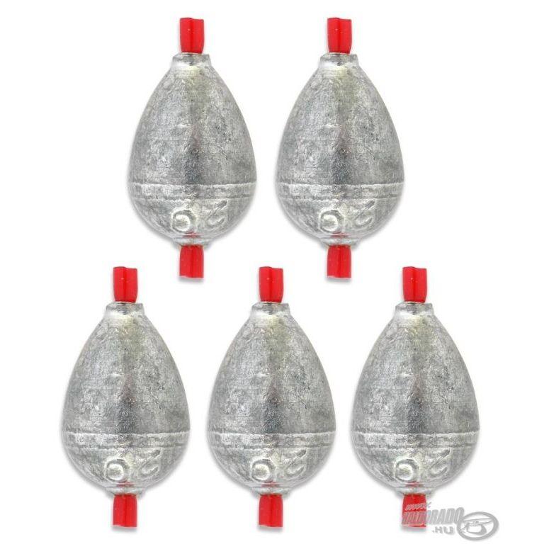 DEÁKY betétes cseppólom - 1,25 g - 5 db