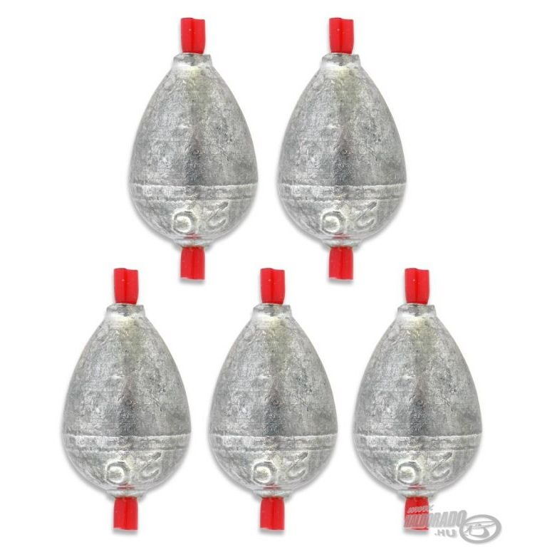 DEÁKY betétes cseppólom - 3 g - 5 db
