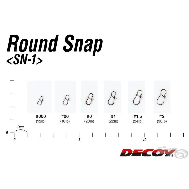 DECOY SN-1 Round Snap 1