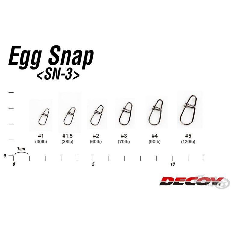 DECOY SN-3 Egg Snap 1,5