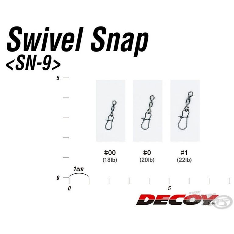 DECOY SN-9 Swivel Snap 0