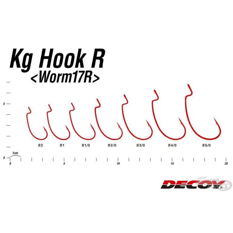 DECOY Worm 17R Kg - 1/0