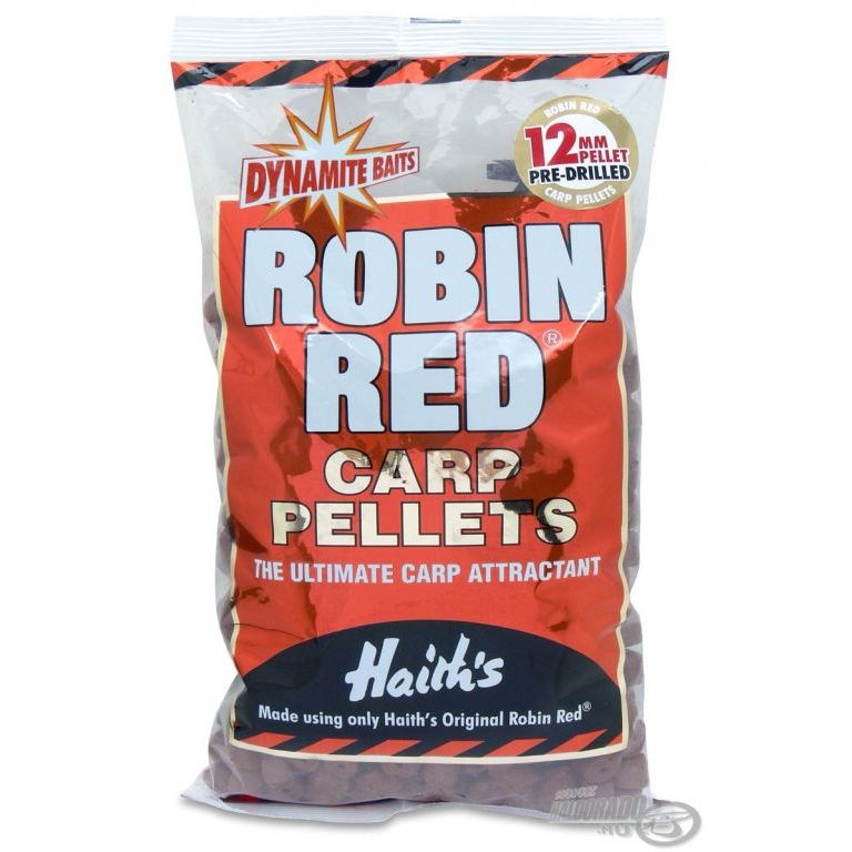 Dynamite Baits Robin Red Carp Pre-Drilled pellet 20 mm