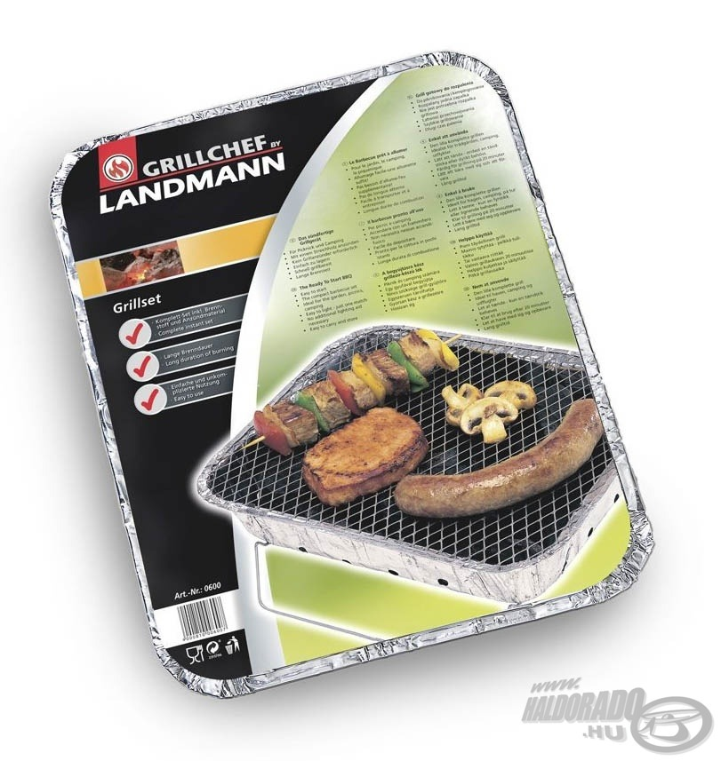 LANDMANN Express Grill990Ft